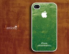 iphone 4 case iphone 4s case iphone 4 cover  beautiful  green  texture  colors unique Iphone case. $13.99, via Etsy.