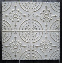 Simple High Quality Vintage Tin Ceiling Tiles Antique White Tin Ceiling Tiles interior decorating tips from our interior designer, Jennifer Cook with. Home Ceiling, Tiles Texture, Faux Tin Ceiling, Tiles, Tin, Tin Backsplash, Tin Tiles, Ceiling, Ceiling Tiles
