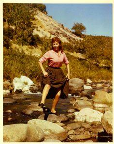 Malaga, 1960, Dorothy Dandridge.