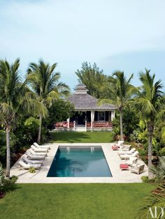 Outdoor Living | Design Chic | Architectural Digest