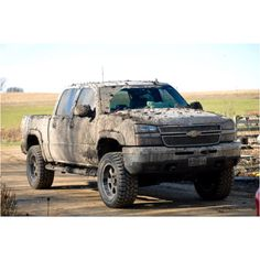 Get a little mud on them tires