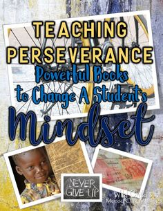 Looking for perseverance-themed kid lit? You need this post! It outlines lesson ideas, and recommends four fantastic fiction and narrative nonfiction books your kids will love. I promise! Reading Resources, Teacher Resources, Teacher Blogs, Literacy Stations, Interactive Activities, English Writing, Book Themes, Nonfiction Books, In Kindergarten