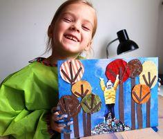 kids fall art