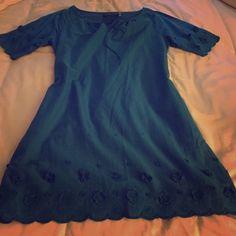Beautiful Ellen Tracy Dress Detail on the sleeve and hem- gorgeous!! Ellen Tracy Dresses