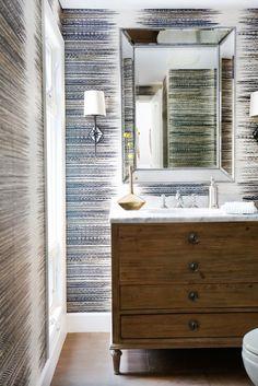 vanity & wallpaper