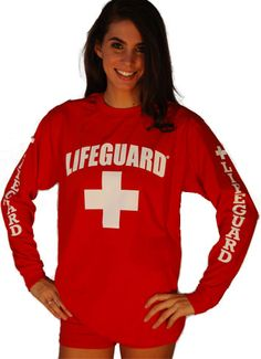 Guard Long-Sleeve Shirt LG-646 | Lifeguard shirts-americanlifeguard