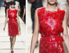 Vivid Textiles at Fendi | The Cutting Class