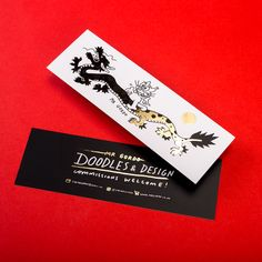 We've added custom foiled bookmarks to our product range! Doodle Designs, One Design, Bookmarks, Create Yourself, Digital Prints, Doodles, How To Apply, Range, Personalized Items