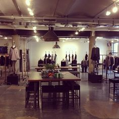 Rag and Bone showroom Fall 2013 Market