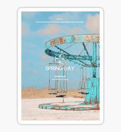 BTS Spring Day 5 Sticker