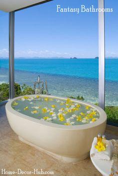 Fantasy Island bathroom