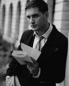 We want to start a two person book club with Tom Hardy.