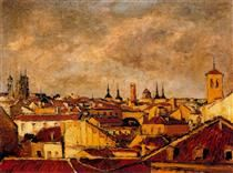 Roofs of Madrid - Arturo Souto
