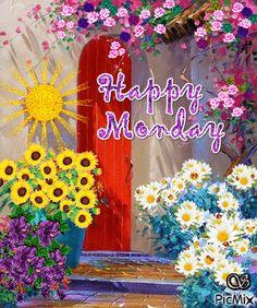 Quotes Happy Friday Mondays Ideas For 2019 Happy Monday Gif, Happy Friday, Happy Monday Pictures, Monday Images, Funny Monday, Happy Week, Friday Weekend, Happy Tuesday, Happy Saturday