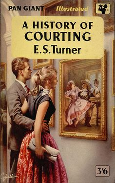 A History of Courting by E. Cover art by Cy Webb (Pseudonym of Reginald Heade) Book Cover Art, Book Art, Book Covers, Classic Literature, Classic Books, Pulp Fiction Book, Fiction Novels, Book Week, Pulp Art