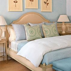 Make the Perfect Bed  Phoebe shares her secrets to creating a bed that looks beautiful every day with an easy four-step formula.