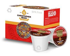 Salty Chestnut Praline Decaffeinated Single Cup Coffee Christopher Bean Coffee K Cup For Keurig Brewers  12 Count Box ** Want additional info? Click on the image. (This is an affiliate link and I receive a commission for the sales)