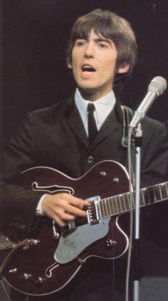 """George Harrison 1963 Gretsch """"Chet Atkiins"""" Tennessean."""