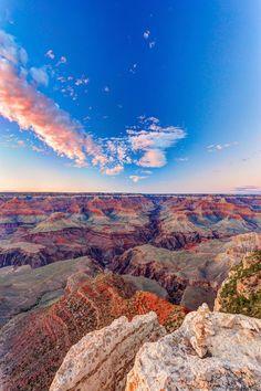 Sunset at Grand Canyon Yavapai Point 2