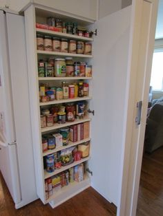 Small pantry for a small kitchen..