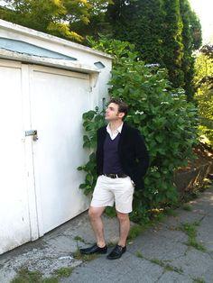 how to wear blazer & shorts for men | Travis of Emerald Closet