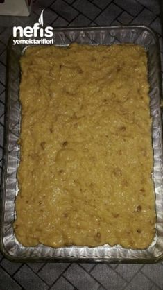 Kadayıf Revani (No Such A Delicious Taste) - Yummy Feed .- Kadayıflı Revani (Yok Böyle Muhteşem Bir Lezzet) – Nefis Yemek Tarifleri Kadayıf Revani (No Such A Delicious Taste) – Delicious Recipes - Eye Make Up, Biscotti, Tiramisu, Banana Bread, Deserts, Tart, Food, Delicious Recipes, Amigurumi