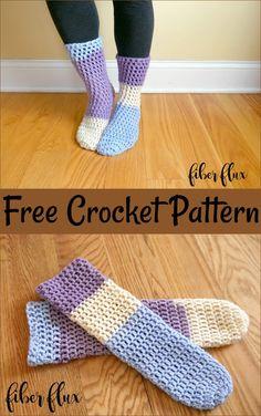 Crochet Socks Free Patterns – All Crochet Pattern