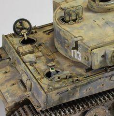Tiger of sPz.Abtl 502 - planetArmor