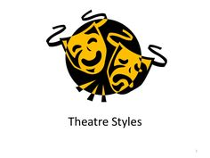 A great overview of theatre styles citing origins, pictures, key characteristics and aims of style. Lot of work but worth it. Don't claim it as your own or you…