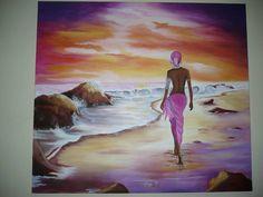 Bildergebnis für cuadros y laminalar africanas Black Women Art, Black Art, African Art Paintings, Caribbean Art, Africa Art, African American Art, Traditional Art, Art Pictures, Female Art