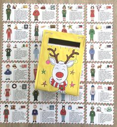 Diy Calendar, Advent Calendar, Calendrier Diy, Ava, Christmas Time, Merry, Gaspard, Cycle 3, Nouvel An