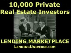 http://www.lendinguniverse.com  Find private real estate investors and lenders in Dallas, Texas  to fund hard money loans residential, commercial land and construction. At http://www.lendinguniverse.com/BorrowersPrivateLender.asp  complete simple form and we will deliver you fast, accurate multiple results. We are neither a lenders nor a broker ...