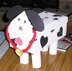 valentine dalmation box | Looking For Noble: February 2012