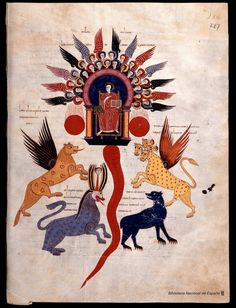 Beato de Liébana. Beato de Liébana , Santo — Manuscrito — 1047                                                                                                                                                                                 Más