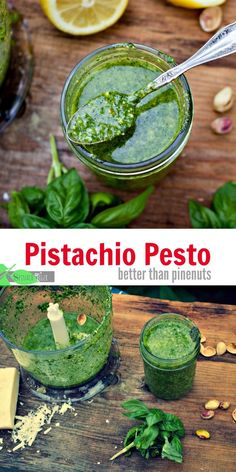 How to Make Pistachio Pesto  and Why You should not eat pinenuts from Spinach Tiger