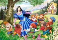 Snow and The 7 Dwarfs (40 parça, maxi puzzle) Castorland Çocuk 31,50 TL