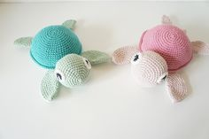 Skildpadde Diy Crochet Patterns, Diy Crochet And Knitting, Crochet Quilt, Love Crochet, Crochet Motif, Crochet For Kids, Crochet Projects, Crochet Animal Amigurumi, Crochet Baby Toys