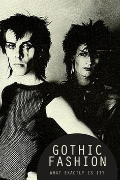 Goth Rock was dark and disturbing, yet somehow ethereal, and really played on people's desire for individuality and revolution. As this genre started to gain traction, it moved further and further away from the Post-Punk scene and enjoyed its own devoted following, allowing the movement to catch fire not only in England but all over the world! Read more: https://atomicjaneclothing.com/blogs/news/what-exactly-is-gothic-fashion