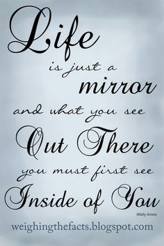 16 Best Mirror Quotes Images Mirror Quotes Words Mirror