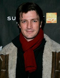 """Nathan Fillion at Sundance Film Festival for 'Waitress'.  Nathan Fillion poses for a photo as he arrives for the screening of """"Waitress,"""" during the Sundance Film Festival in Park City, Utah, Sunday, Jan. 21, 2007(AP Photo/Carolyn Kaster) ORG XMIT: UTCK106 AP"""
