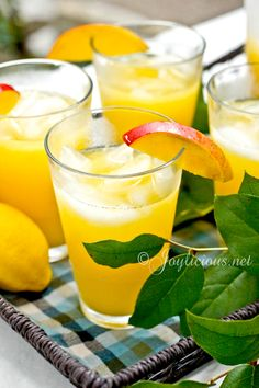 mango lemonade! Perfect for spring!