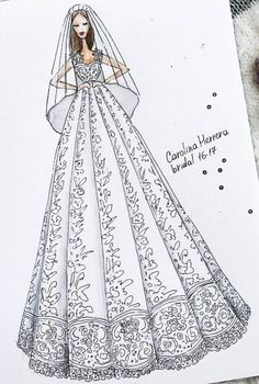 Carolina Herrera Bridal 2016-17 by @ekateri_lukina  Be Inspirational❥ Mz. Manerz: Being well dressed is a beautiful form of confidence, happiness & politeness