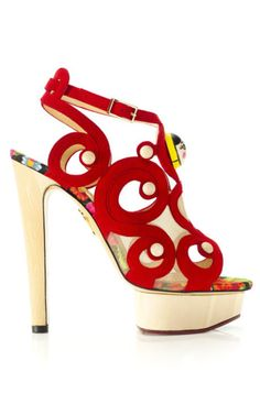 Cha-Cha-Charlotte Olympia shoes for pf12