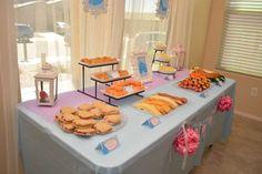 Cinderella Birthday Party | CatchMyParty.com