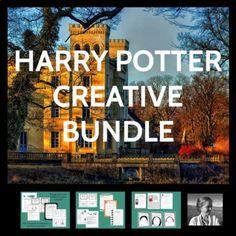 """Help your students fall in love with Harry Potter with this great variety of creative activities. They'll tweet for Harry, take on fresh new roles in class discussions, incorporate sensory details in their writing using fun creative writing prompts like """"What Mrs."""