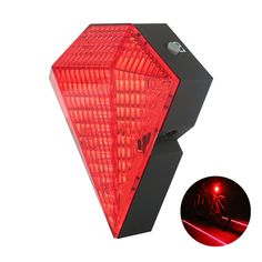 lanji Bike Tail Lights USB Rechargeable Bike Cycling Safety Zone Tail Light 8 LED with 2 Red Laser Rear Lamp Safety Zone Tail Light Red - Good quality. Bicycle Safety, Clocks For Sale, Modern Area Rugs, Tail Light, Cool Bikes, Usb, Lights, Hiking, Cycling Equipment