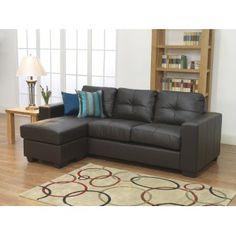 Furniture Link Gemona L Sofa in Brown Sofa Couch, Couch Set, Brown Sofa, Gray Sofa, Contemporary Sofa, Modern Sofa, L Sofas, Sofa Inspiration, Office Sofa