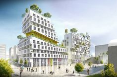 Amsterdam-based SeARCHhas won a competition incollaboration withAtelier PhileasandLA architecturesto design a housing block in the new Paris...