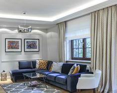 METAMORFOZA DOMU W MIĘDZYLESIE - Średni salon, styl klasyczny - zdjęcie od 3deko