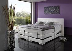 Breckle Boxspringbett 140 x 200 cm Oxford Box Mero TFK Big Topper Gel Premium Standard Bed, Furniture, Home Decor, House, Decoration Home, Stream Bed, Room Decor, Home Furnishings, Beds